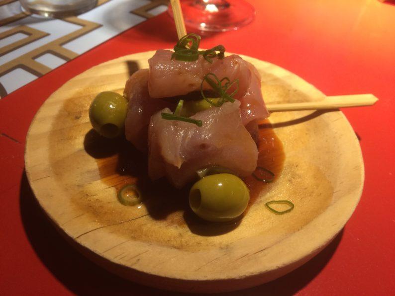 Santiago de Compostela - Casa Marcelo - Thunfisch mariniert