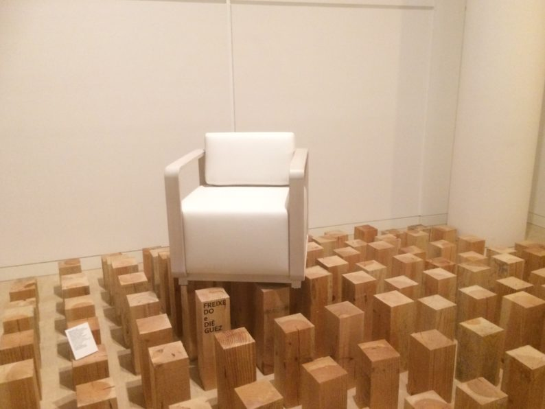 Santiago de Compostela - Ciudad Cultural - Ausstellung zu Holz