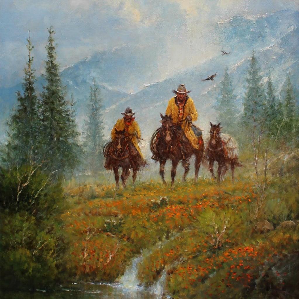ein typisches Bild aus der wilden Landschaft Colorados
