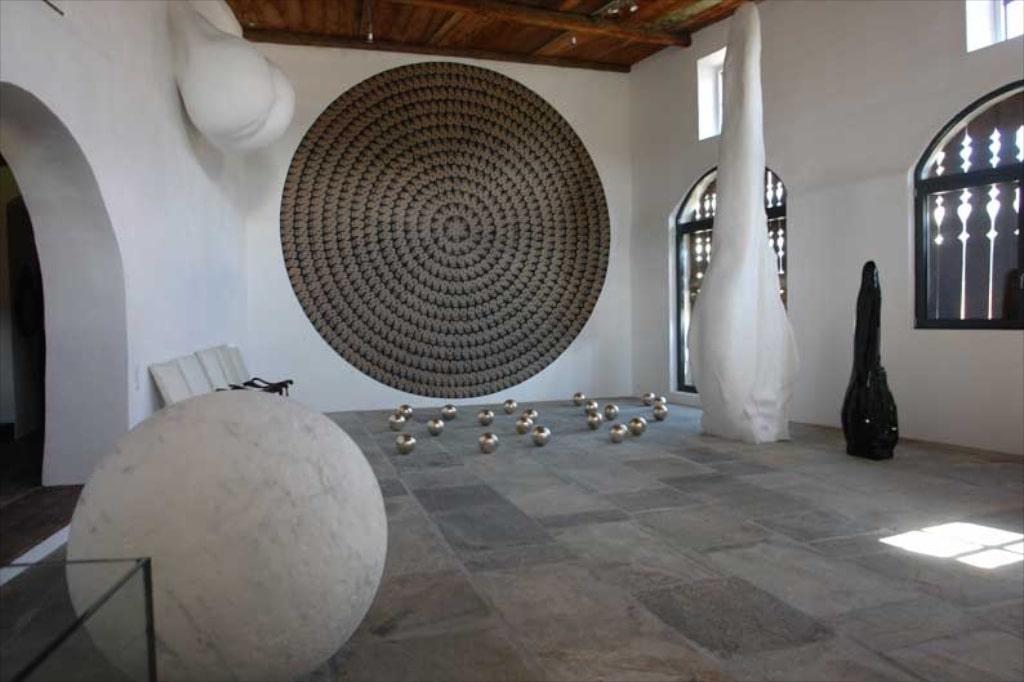 Einen Raum für den Engadiner Künstler Not Vital in der Galerie Gian Enzo Sperone.
