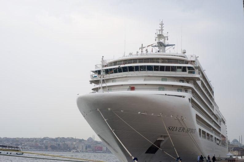 Silversea im Hafen von Istanbul