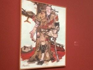 Ausstellung Baselitz Helden - Versperrter Maler 1965