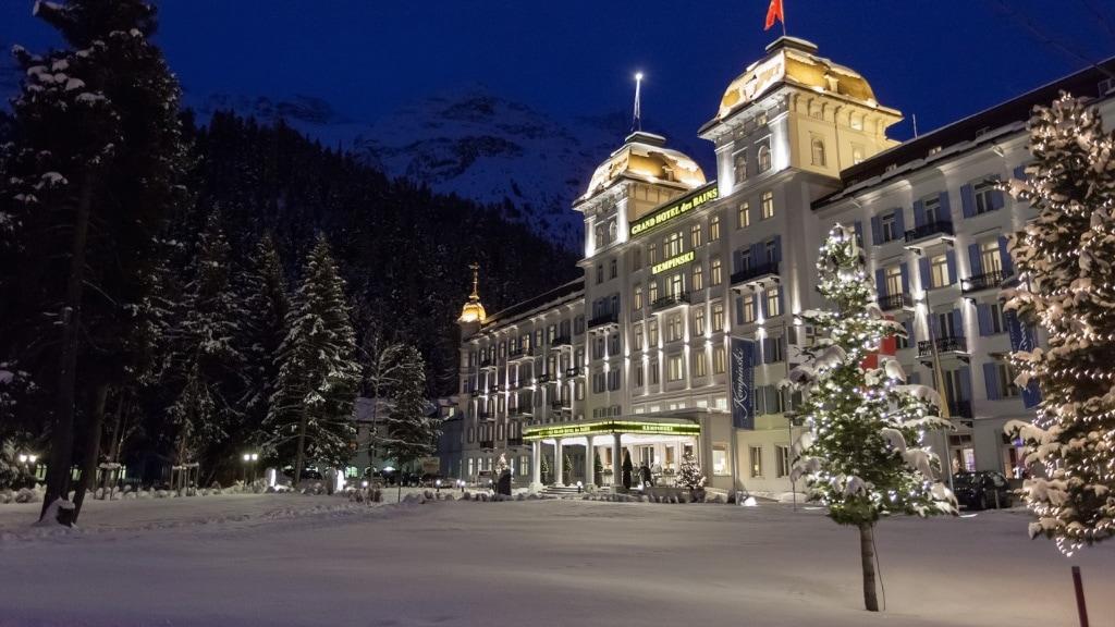 die klassisch schöne Fassade des ehemaligen Kurhotels