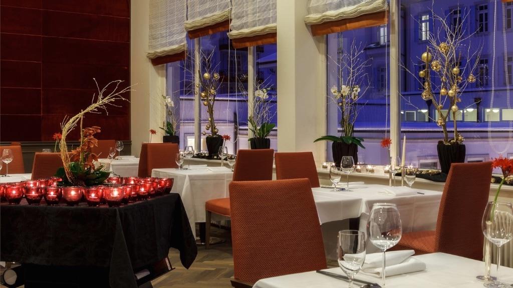Die asiatische Speisekarte des Sr Bus rundet das Angebot des Restaurants im Kempinski ab.