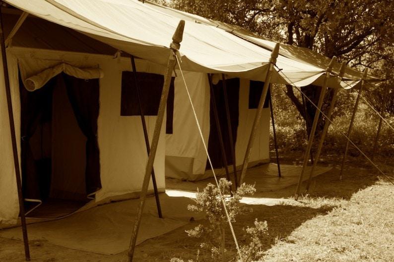 Tanzania - Ruaha NP - Kwihala Camp- Zelt
