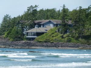 Das chice Resort Wickaninnish Inn duckt sich unter der gewaltigen Natur