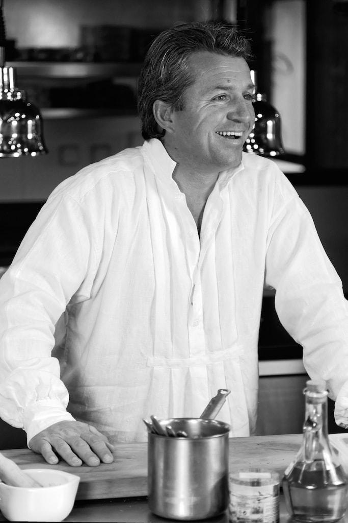 Edouard Loubet ist der Chef des Sterne-Restaurants im Club Med