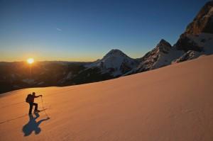 Ein Traum für einen Tourengeher Foto Herbert Raffalt