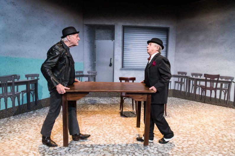 Zwei alte Mimen Rüdiger Hacker und Gerhard Lohmeyer Foto Jean-Marc Turmes