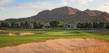Ambiente Golfplatz, der erste Platz der nach ökologischen Aspekten im letzten Jahr angelegt wurde.